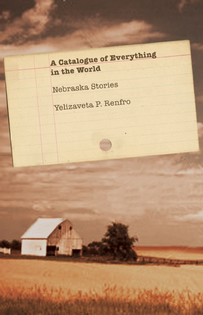 A Catalogue of Everything in the World Book Jacket