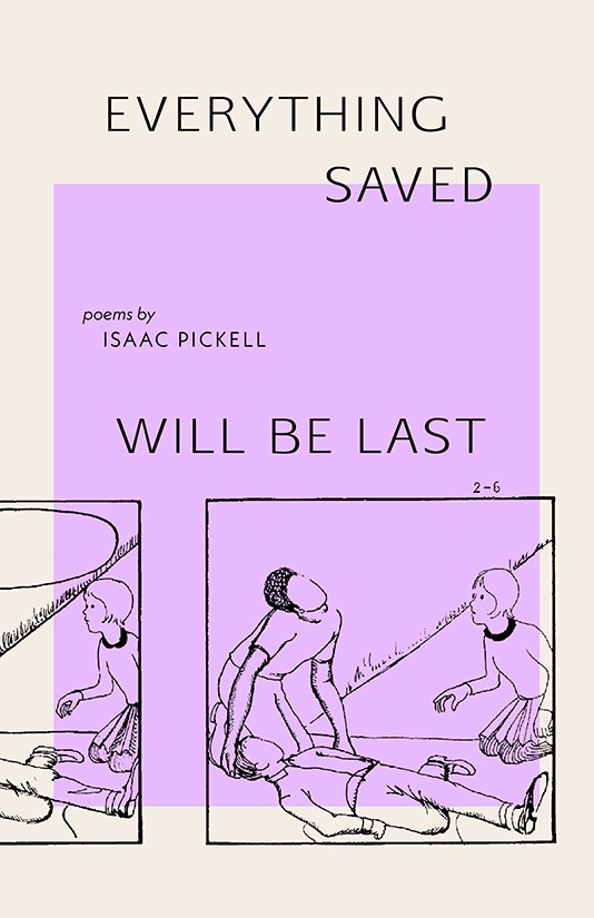 everything saved will be last Book Jacket